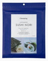 Clearspring Bio Nori-Shusi Piritott Alga 7 szelet 17 g
