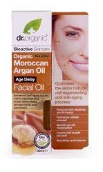 Dr. Organic Bio Argán olaj, Arcápoló olaj- öregedésgátló 30 ml