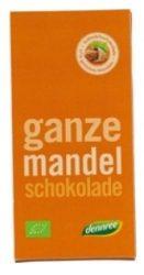 Dennree Bio Tejcsokoládé Egész Mandula 100 g