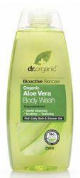 Dr. Organic Bio Aloe Vera tusfürdő 250 ml -- készlet erejéig, a termék lejárati ideje: felbontás után 12 hónappal