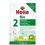 Holle Bio Csecsemőtápszer, kecsketej alapú, 2-es 400 g -- NetbioHónap 2019.05.29-ig 12% kedvezménnyel