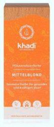 Khadi Növényi hajfesték por, Középszőke 100 g