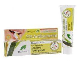 Dr. Organic Bio Teafa fogkrém 100 ml -- NetbioHónap 2019.01.31-ig 10% kedvezménnyel