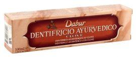 Dabur ayurvédikus fogkrém, Clove-szegfűszeges (bordó) 100 g