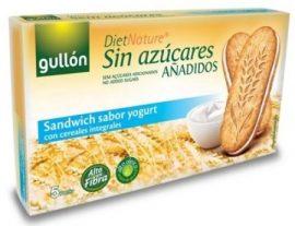 Gullon Diabetikus Szendvicskeksz Joghurtos 220 g