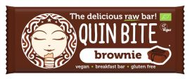 Quin Bite Bio Nyers Desszert Szelet Brownie 30 g