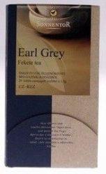 Sonnentor Bio Tea, Earl grey, filteres, adagolós 27 g