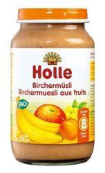 Holle Bio Junior gyümölcsös-gabonás müzli, birchermüsli 220 g -- készlet erejéig, a termék lejárati ideje: 2021 febuiárja