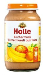 Holle Bio Junior gyümölcsös-gabonás müzli, birchermüsli 220 g