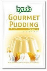 Byodo Bio pudingpor, gluténmentes vaníliás pudingpor 40 g