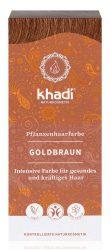Khadi Növényi Hajfesték, Aranybarna 100 g
