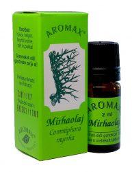 Aromax illóolaj, Mirha olaj (Commiphora myrrha) 2 ml