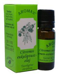 Aromax illóolaj, Citromos eukaliptusz olaj (Eucalyptus citriodora) 10 ml