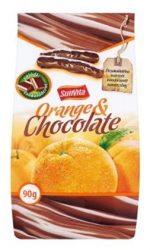 Sunvita Csokoládés Kandirozott Narancshéj 90 g