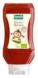 Byodo Bio gyerek ketchup 80% paradicsom, 300 ml