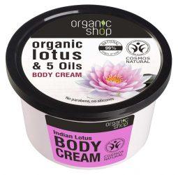 Organic Shop Indiai lótusz testápoló 250 ml