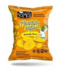 Samai Plantain Chips Natúr Édes 75 g