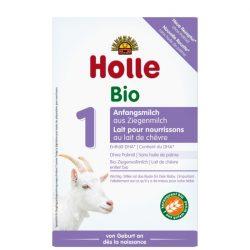 Holle Bio Csecsemőtápszer, kecsketej alapú, 1-es 400 g