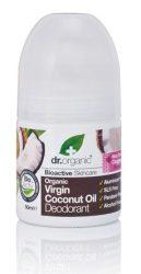 Dr. Organic Bio Kókuszolaj, golyós dezodor bio szűz kókuszolajjal, alumíniummentes 50 ml