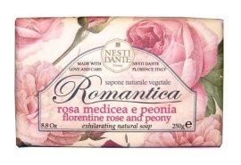 Nesti Dante Romantica firenzei- és pünkösdi rózsa szappan 250 g