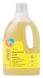 Sonett Folyékony mosószer színes mosáshoz menta/citrom 1,5 l