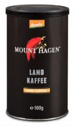 Mount Hagen Bio Kávé, instant, gabona, koffeinmentes 100 g