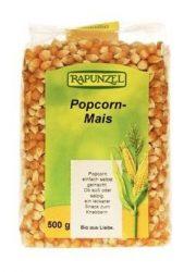 Rapunzel Bio gabonamagvak, kukorica, pattogtatnivaló 500 g -- készlet erejéig, a termék lejárati ideje: 2019.08.09.