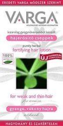 Varga hajerősítő cseppek gyenge- vékony hajra, nőknek ajánlva 50 ml