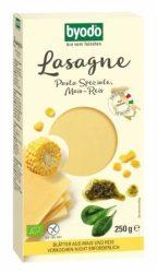 Byodo Bio Lasagne, kukorica- és rízstészta - gluténmentes 250 g