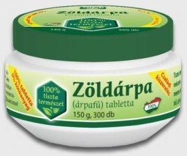 Zöldvér Zöldárpa Tabletta 300 db