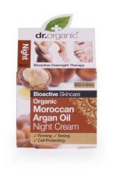 Dr. Organic Bio Argán olaj, Éjszakai krém 50 ml -- NetbioHónap 2019.11.27-ig 10% kedvezménnyel