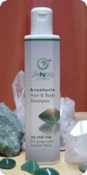 Sanoll JUST4YOU Aventurin Bio sampon és tusfürdő, Vegan 200 ml (No.960)