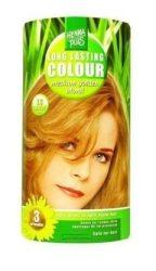 HennaPlus női tartós hajfesték, szőkés árnyalat, közép aranyszőke (7.3) (Long Lasting Colour, Medium Golden Blond)