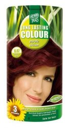 HennaPlus női tartós hajfesték, barna árnyalat, bíbor álom (6.67) (Long Lasting Colour, Purple Dream)