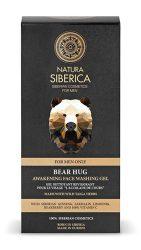 Natura Siberica Ébresztő/Frissítő Arclemosó gél férfiaknak 150 ml