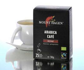 Mount Hagen Bio Kávé, instant, Stick, Arabica 25x2 g
