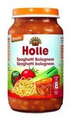 Holle Bio Junior húsos bébiétel, bolognai spagetti 220 g