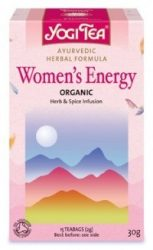 Yogi női és férfi tea, Női energia 17 filter 30 g - Bio tea