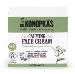 Dr. Konopka's Nyugtató-tápláló arckrém 50 ml -- NetbioHónap 2018.12.17-ig 10% kedvezménnyel