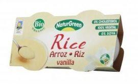 NaturGreen Bio rizspuding, vaniliás 2*125 gr