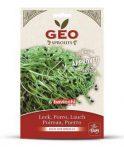 GEO Bio póréhagyma csíráztatáshoz 10 g -- készlet erejéig, a termék lejárati ideje: 2021 februárja