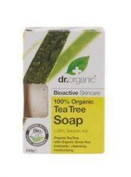 Dr. Organic Bio Teafa szappan 100 g -- NetbioHónap 2019.08.28-ig 10% kedvezménnyel