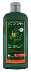 Logona Bio színmegőrző sampon, henna kivonattal, vörös és barna hajra 250 ml