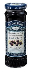 St. Dalfour lekvár francia recept szerint, cseresznye 284 g