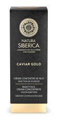Natura Siberica Caviar Gold Éjszakai arckrém-koncentrátum - Érett bőrre 30 ml -- NetbioHónap 2019.06.26-ig 30% kedvezménnyel