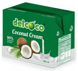 Del coco Kókusztejszín 200 ml