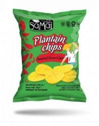 Samai Plantain Chips Édes Chili 75 g