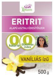 Szafi Fitt Eritritol Vaníliás 500 g
