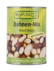 Rapunzel Bio konzerv, vegyes bab sós lében 400 g