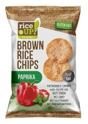 Rice Up Barnarizs Chips Paprikás 60 g